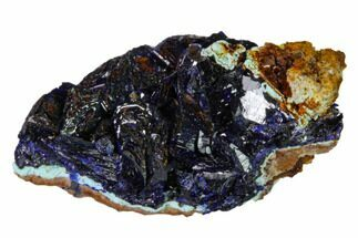Azurite & Chrysocolla - Fossils For Sale - #162570