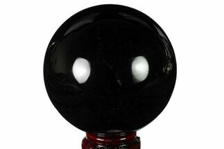 "Buy 3.5"" Polished Obsidian Sphere - Mexico - #163294"