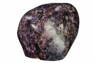 "2.65"" Free-Standing, Polished Purple Charoite - Siberia, Russia For Sale, #163958"