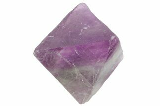 "1.6"" Purple and Green Banded Fluorite Octahedron - China For Sale, #164558"