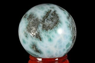 "Buy 1.6"" Polished Larimar Sphere - Dominican Republic - #168163"