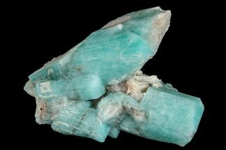 Microcline var. Amazonite  - Fossils For Sale - #168078