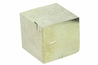 "Buy 1.22"" Natural Pyrite Cube - Victoria Mine, Spain - #168565"