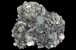 "Buy Stunning, 6.8"" Gemmy Aquamarine and Muscovite Association - Pakistan - #170752"