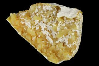 "2.8"" Fluorescent, Yellow Calcite Crystal Cluster - South Dakota For Sale, #170681"