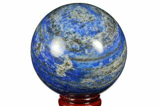 "2.45"" Polished Lapis Lazuli Sphere - Pakistan For Sale, #170861"