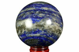 "Buy 2.65"" Polished Lapis Lazuli Sphere - Pakistan - #170863"