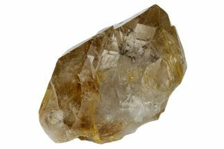Quartz var. Smoky, Hematite & Rutile - Fossils For Sale - #172989