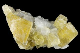 Fluorite & Quartz - Fossils For Sale - #173958