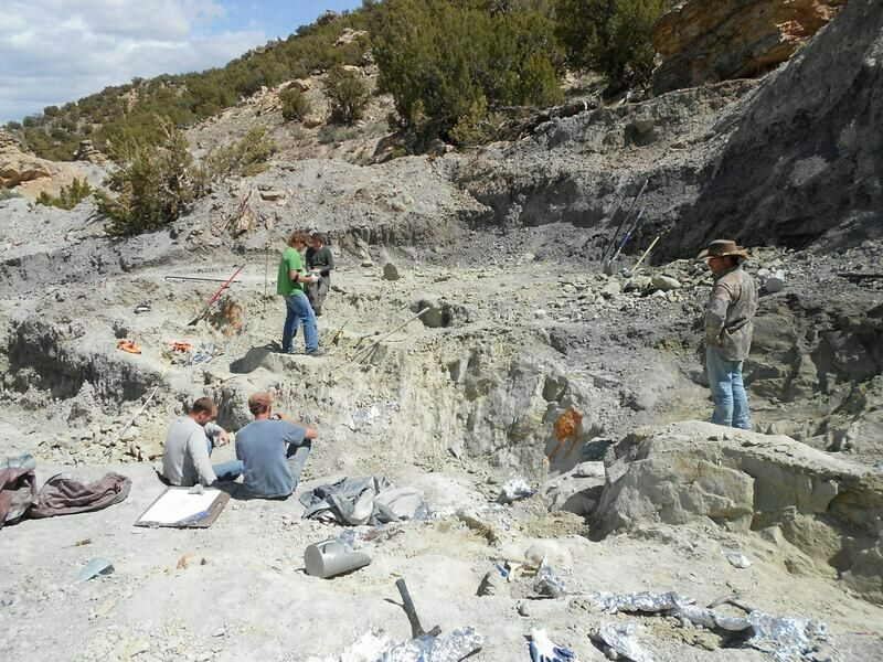 A view of operations at the Skull Creek Quarry.