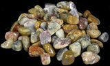 Bulk Polished Botswana Pink Agate - 8oz. (~ 20pc.) - Photo 2