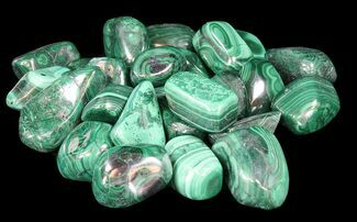 Bulk Polished Malachite - 3 Pack
