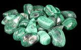 Bulk Polished Malachite - 10 Pack - Photo 2