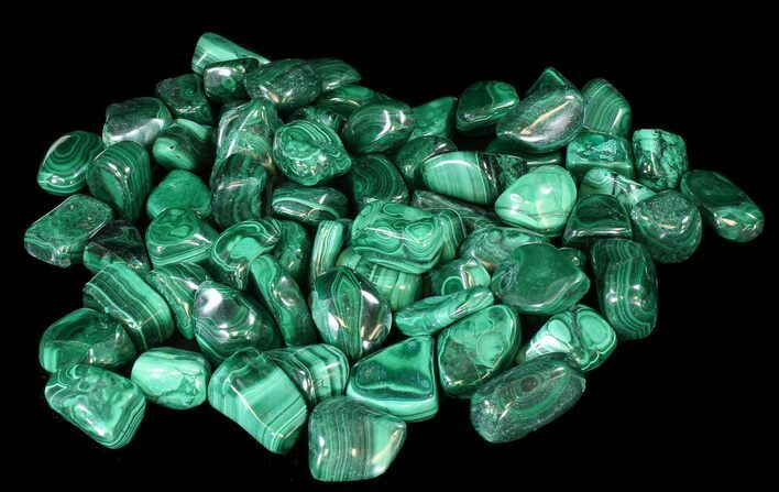 Bulk Polished Malachite - 10 Pack - Photo 1