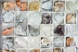 Mixed Indian Mineral & Crystal Flats - 54 Pieces - Photo 5