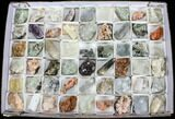 Mixed Indian Mineral & Crystal Flats - 54 Pieces - Photo 2