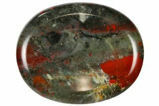 Polished Bloodstone Worry Stones