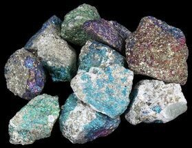 Bulk Peacock Ore (Treated Chalcopyrite) - 3 Pack