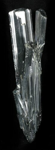 "Sharp 3.6"" Metallic Stibnite Crystal - China"
