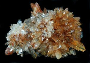 "1.9"" Creedite Crystal Cluster - Durango, Mexico For Sale, #34292"