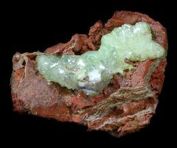 Gemmy, Green Adamite Crystals - Durango, Mexico For Sale, #34940