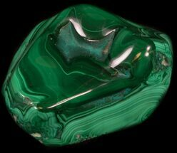 "3.4"" Polished Malachite Specimen - Congo For Sale, #35561"