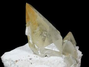 Calcite on Barite - Fossils For Sale - #33807