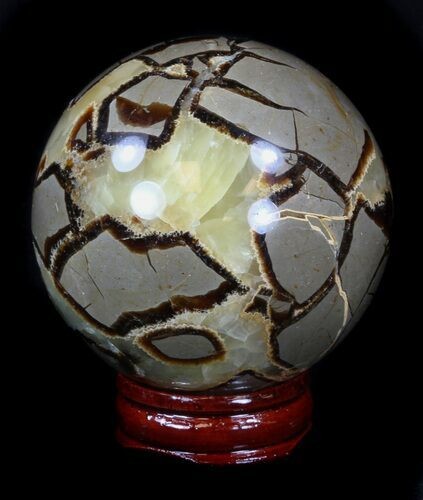 "2.45"" Polished Septarian Sphere"