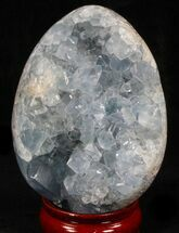 "Buy 4.25"" Gorgeous Celestite Geode ""Egg"" - Madagascar - #37063"