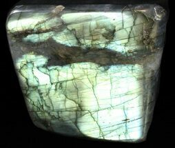 "3.1"" Flashy Polished Labradorite - Free-Standing For Sale, #37586"