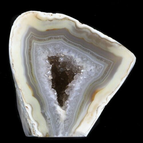 "2"" Polished Brazilian Agate Standup - Quartz"