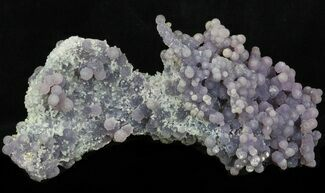 "7"" Grape Agate From Indonesia - Purple and Green For Sale, #38201"