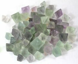 Buy Bulk Green Fluorite Octahedrons - 25 Pack - #40705