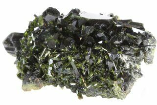 "Lustrous 1.9"" Epidote Crystal Cluster - Pakistan For Sale, #41570"