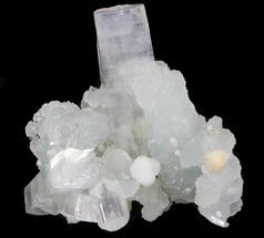 "1.6"" Prehnite With Apophyllite & Gyrolite - India For Sale, #39911"