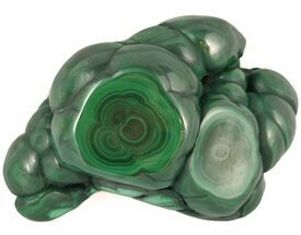 "3.0"" Polished Malachite Specimen - Congo For Sale, #45236"
