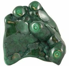 "Buy 5.1"" Polished Malachite Specimen - Congo - #45265"