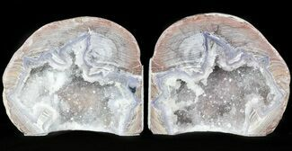 "Buy 4.1"" Dugway Geode Bookends - Sparking Crystals - #45937"