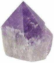 "3.4"" Polished Amethyst Crystal Point - Brazil For Sale, #46046"