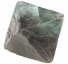 "1.65"" Fluorite Octahedron - Green For Sale, #48281"
