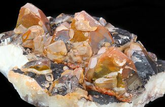 "Buy 4.6"" Hematite & Calcite Crystal Cluster - China - #50155"