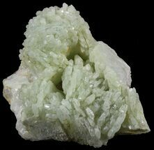 "Buy 2.3"" Green Prehnite Crystal with Quartz - Morocco  - #52276"