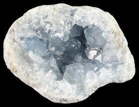 "Buy 2.8"" Sky Blue Celestite Crystal Cluster - Madagascar - #54835"