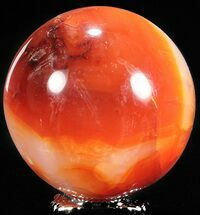 "2.3"" Colorful Carnelian Agate Sphere - Madagascar For Sale, #55064"