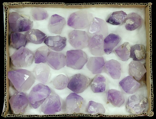 Amethyst Crystal Points Wholesale Lot - 35 Large Points