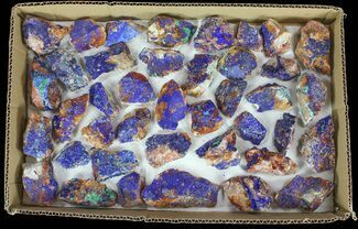 Azurite & Malachite - Fossils For Sale - #61584
