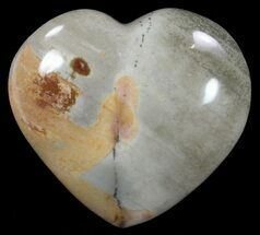 "Buy 3.3"" Polychrome Jasper Heart - Madagascar - #62524"