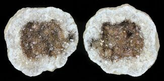"Buy 2"" Keokuk Geode with Calcite Crystals - Missouri - #62257"
