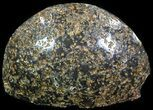 "2"" Polished Brazilian Agate Standup - Druzy Quartz - #61895-1"