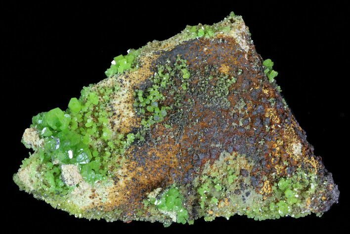 "2.8"" Pyromorphite Crystal Cluster - China"